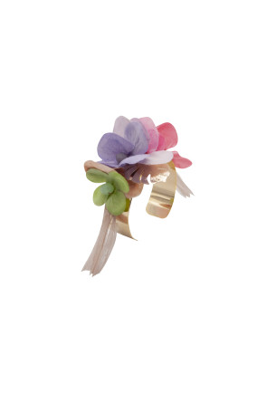 pulsera_dorada_flores_colores